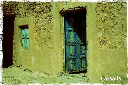 porte maison berbère